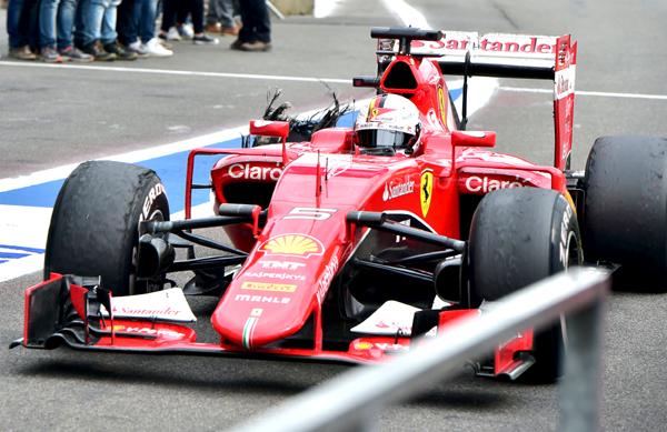 Sebastian Vettel mengulangi kesalahan yang sama tahun 2017