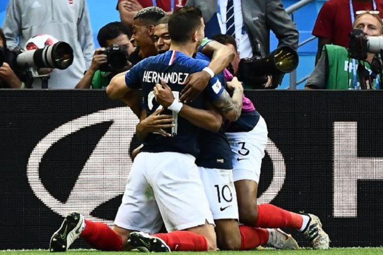 Perancis Maju Perempat Final