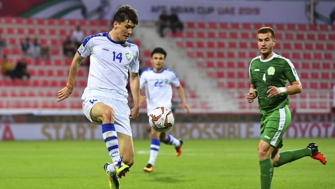 Eldor Shomurodov, pemain asal timnas Uzbekistan
