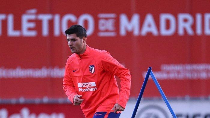 Atletico Resmi Dapatkan Alvaro Morata