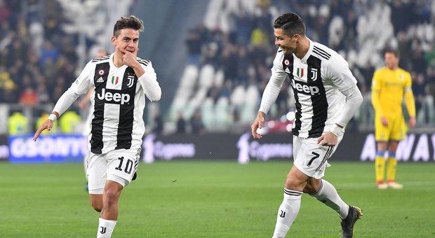 Juve Raih Kemenangan Mudah Atas Frosinone