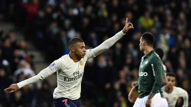 Mbappe Pecahkan Rekor Gol Ligue 1