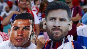 Jose Mourinho berpendapat sebenarnya Messi dan Ronaldo adalah pemain yang saling mendorong untuk bisa mengembangkan teknik permainan