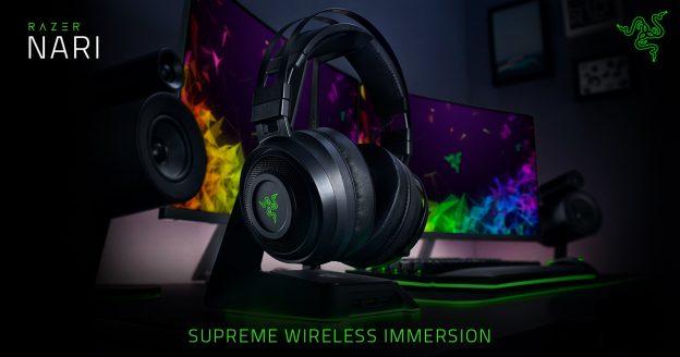 Razer Nari : Headset Wireless dengan suara mantap