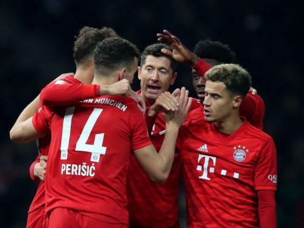 Bayern Munich Menghancurkan Hertha Berlin 4-0