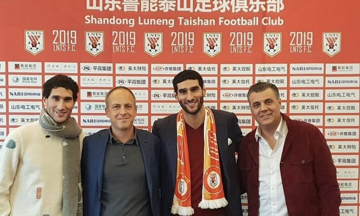 Klub Liga Super China Rekrut Marouane Fellaini